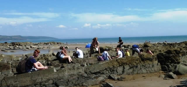 Geology at Haybridge